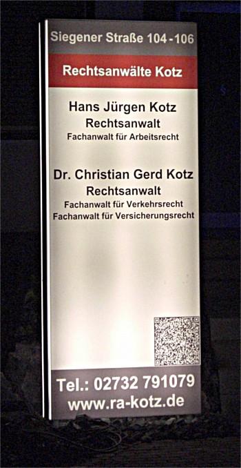 Medizinrecht Siegen - Rechtsanwaltskanzlei Kotz in Kreuztal