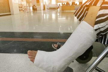 Krankenhaushaftung – nicht erkannte Sprunggelenkfraktur