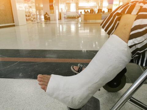 Krankenhaushaftung - nicht erkannte Sprunggelenkfraktur